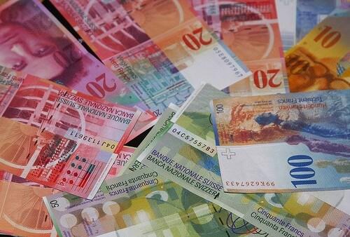 курс франка в обмінних пунктах Чернівців
